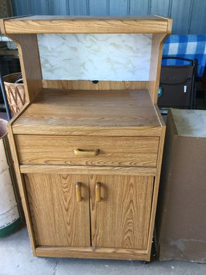 Microwave cart, dehumidifier, upholstered chair, stuffed St Bernard, Bassett Hound, stacking chairs for Sale in South Boardman, MI