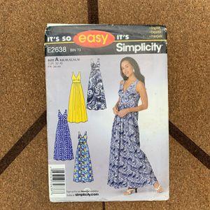 Dress pattern for Sale in Alpharetta, GA