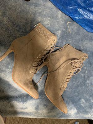 Grey boot heels for Sale in Hyattsville, MD