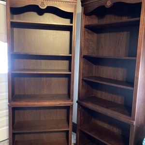 Solid Wood, Cherry Color, Bookcases for Sale in Williamstown, WV