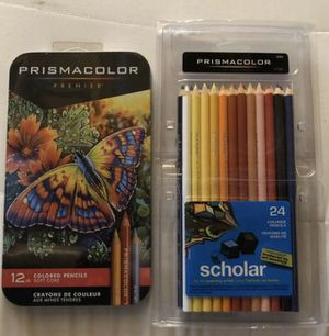 Prismacolor Premier & Scholar colored pencil sets for Sale in Peyton, CO