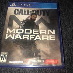 Playstation 4 Modern Warfare Disc for Sale in Wilmington, CA
