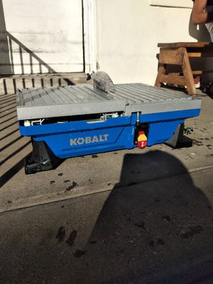 Kobalt tile saw for Sale in Philadelphia, PA