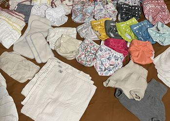 Cloth Diapers, Liners, Covers, Etc. for Sale in Raymond,  WA