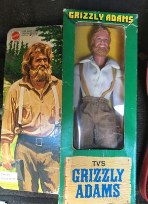 Matel no. 2377 grizzly Adams 1978 action figure for Sale in Payson, AZ