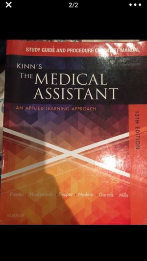 Kinns The Medical Assistant 13TH Edition for Sale in Los Angeles, CA