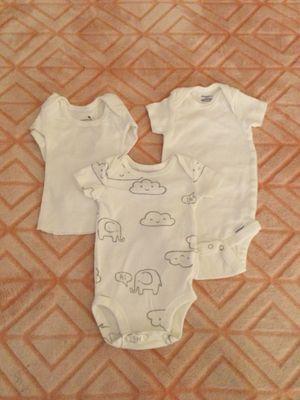 Newborn onesie 2️⃣/1️⃣/2️⃣ for Sale in Upland, CA