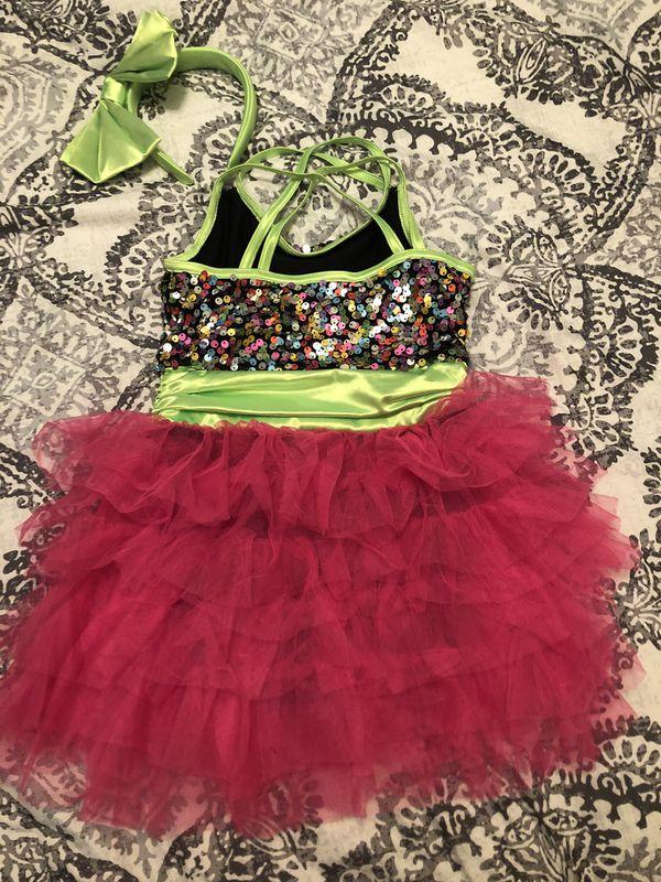 Little girl dance costume