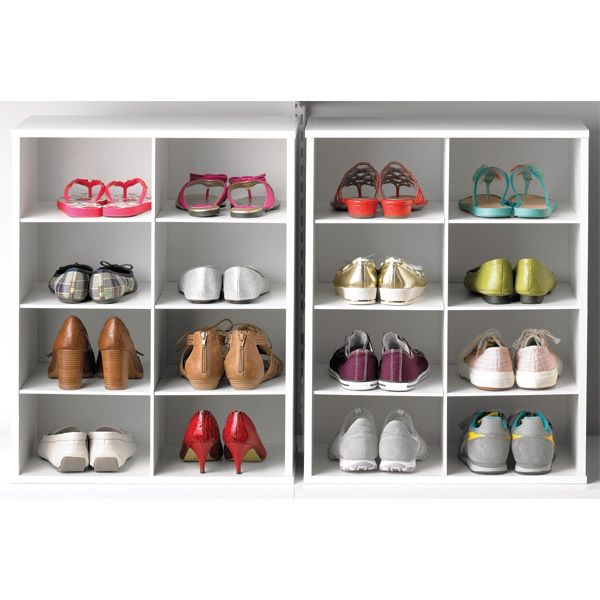 Container Store Shoe Rack 8 Cube New In Box