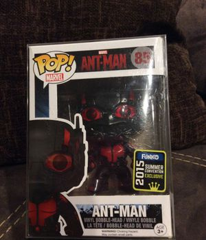 FUNKO POPS #85 DARK ANTMAN, #133 THE CROW AND #202 UNMASKED JASON (FAKE) for Sale in Frisco, TX