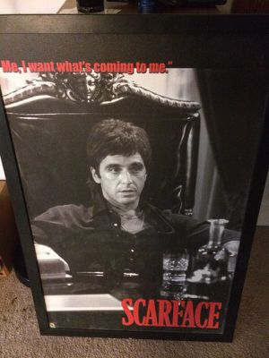 Scarface picture. for Sale in Centerburg, OH