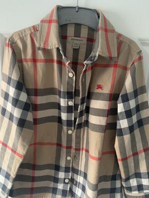 Burberry boys shirt for Sale in Everett, WA