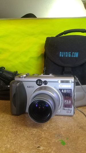 """CANON """"POWER SHOT G3"""" digital camera for Sale in Bakersfield, CA"""