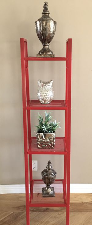 Ladder shelf 4 - Tier Metal Unit for Sale in Downey, CA