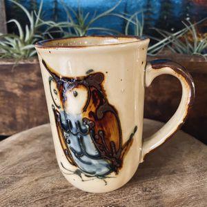 Kitschy cute vintage Otigari Mid Century owl coffee mug. for Sale in Auburn, WA