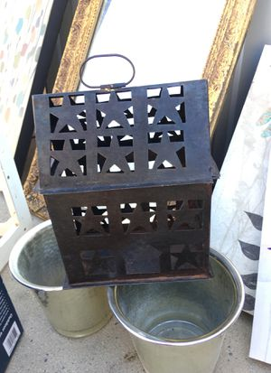 Metal candle holder. for Sale in Fresno, CA