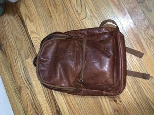 Fossil Leather Backpack for Sale in Edgewater, NJ