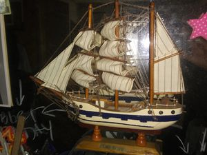 4 Hand Made Wooden Sail Boats for Sale in Brooklyn, NY