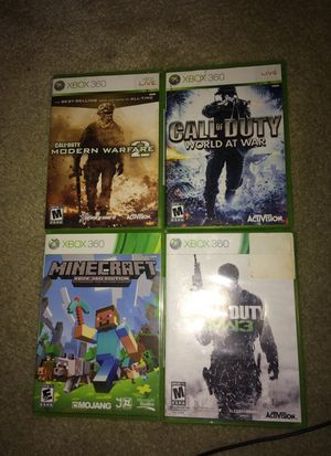 Xbox 360 games all for $20 for Sale in Austin, TX