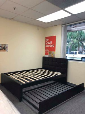 Brand new bed frame full/twin for Sale in Pomona, CA