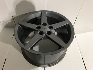 05-13 Chevrolet Corvette C6 Front & Rear Rim Wheel Competition Gray for Sale in Portland, OR