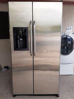 GE stainless steel refrigerator for Sale in Las Vegas, NV