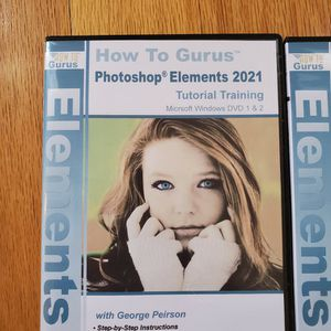 Photoshop Elements 2021 How To Guru for Sale in Chino Hills, CA
