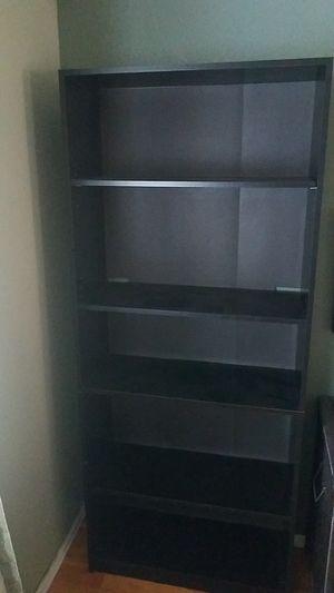 Black Bookshelves - set of 2 for Sale in Denver, CO