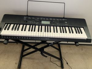 CASIO CTK-3500 61 Key Digital Keyboard with stand for Sale in Irvine, CA