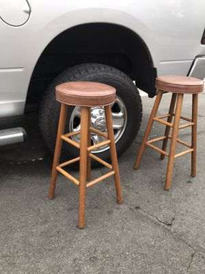 Cool kitchen counter Bar stools for Sale in Fontana, CA