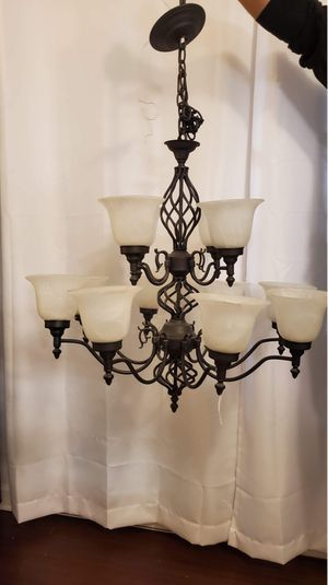 Large Dining Room Light Fixture / Chandelier for Sale in Tacoma, WA