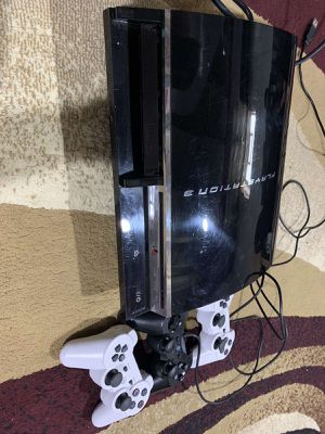 Ps3 with 3 controllers for 200 to 175 for Sale in Detroit, MI