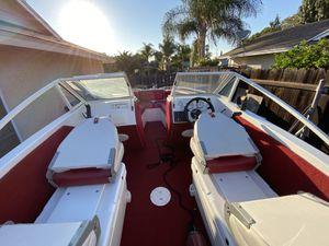 17ft 1985 Larson Inboard Outboard Motor Boat for Sale in Pomona, CA