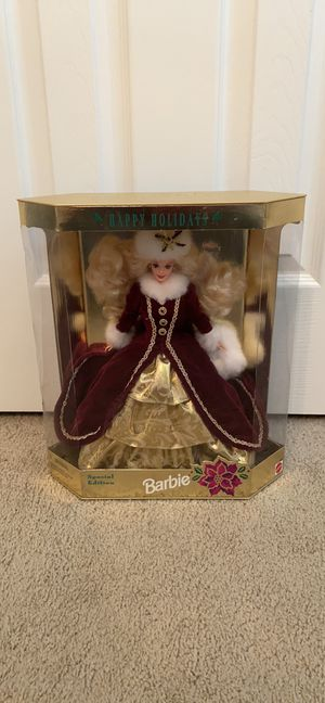 1996 Happy Holidays Barbie Doll for Sale in Taylor Lake Village, TX