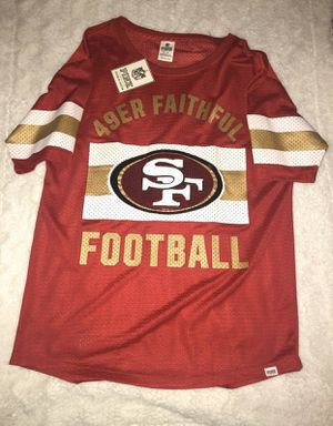 49ers women's jersey from VS Pink for Sale in Midland, TX