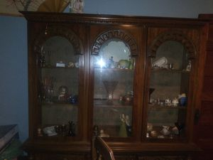 Antique Victorian hutch and table for Sale in Saint Paul, MN