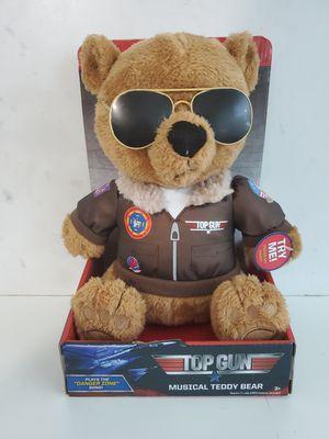 Top gun musical teddy bear new for Sale in Plantation, FL