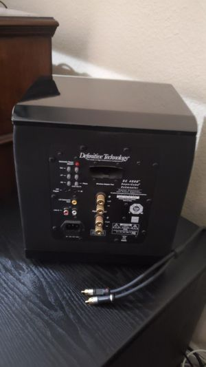 Definitive technology Supercube 4000 Subwoofer 400obo for Sale in Las Vegas, NV