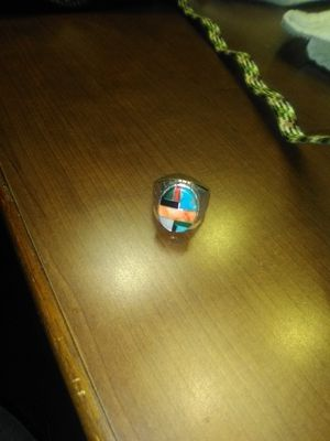 Men's Sterling and turquoise ring for Sale in Carthage, MO