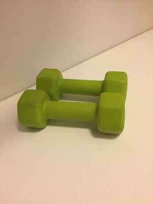 5 Ibs dumbbells with yoga mat for Sale in Malden, MA