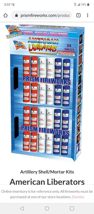 Prism firewworks for Sale in Delaware, OH