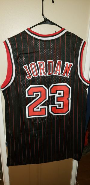 Men's XL Michael Jordan Chicago Bulls Jersey New with Tags Stiched Nike $45. Ships +$3. Pick up in West Covina for Sale in West Covina, CA