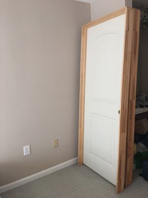 Two White Doors for Sale in Vienna, VA