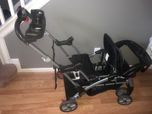 Babytrend Sit N Stand double stroller for Sale in Snellville, GA
