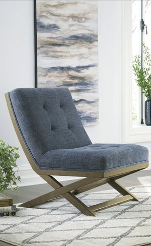 New Sidewinder Blue Accent Chair for Sale in Houston, TX
