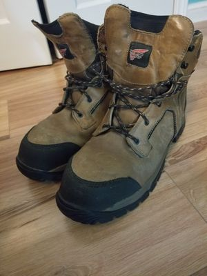 Red wing steel toe boots for Sale in Austin, TX