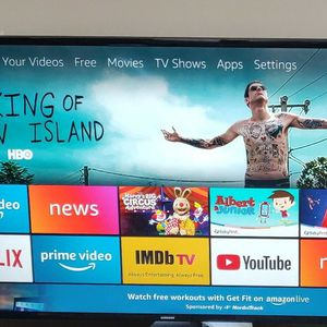 """Samsung 48"""" Inch Tv With Two Remotes for Sale in Arlington, VA"""