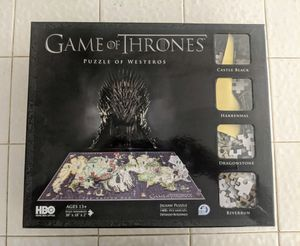 Game of Thrones multilayered puzzle 1400 pieces - used for Sale in San Diego, CA