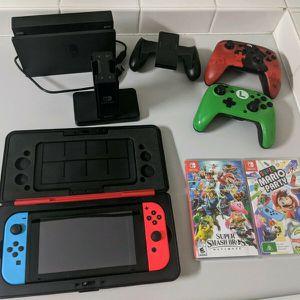 Nintendo Switch-Mario Edition for Sale in Galveston, TX