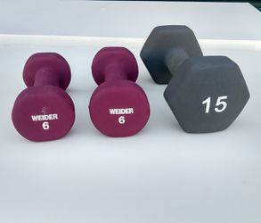 27 lbs of Dumbbells for Sale in Durham,  NC